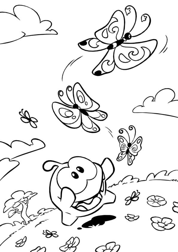 Cut the rope coloring pages ~ Image - ColoringPage4.jpg - Cut the Rope Wiki