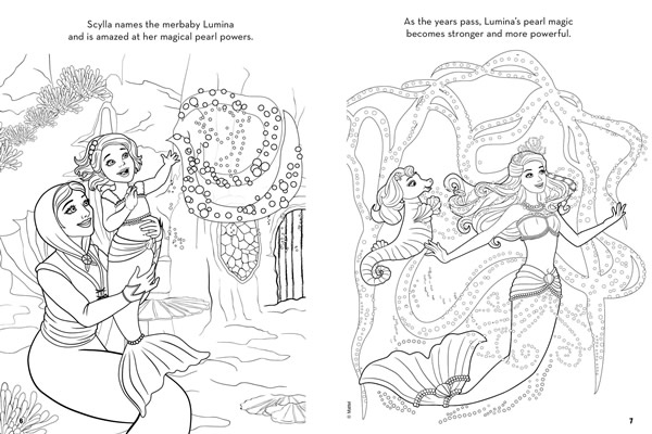 Pearl Princess Coloring Pages Pearl Princess Coloring Pages