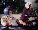 Miz Tisdale on her motorcycle.png