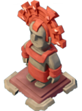 Statue Magma Masterpiece