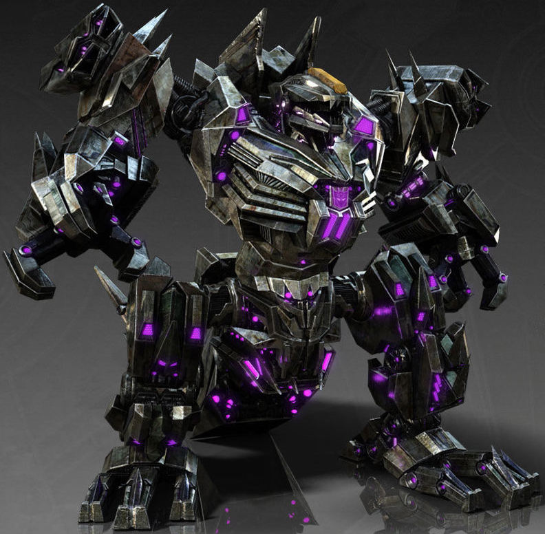 Trypticon  Decepticon Battle PlatformTrypticon War For Cybertron Toy