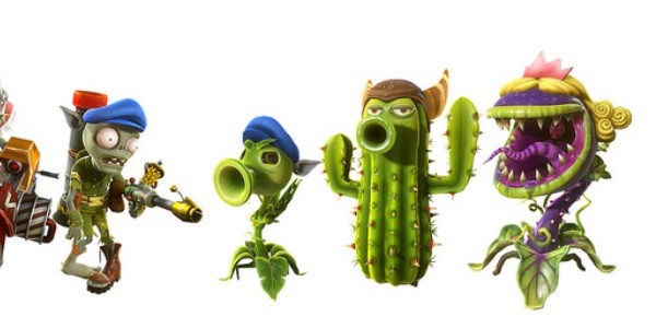 MY TOP 5 <b>CHARACTERS</b> - <b>Plants</b> <b>vs</b> <b>Zombies</b> <b>Garden</b> <b>Warfare</b> <b>2</b>