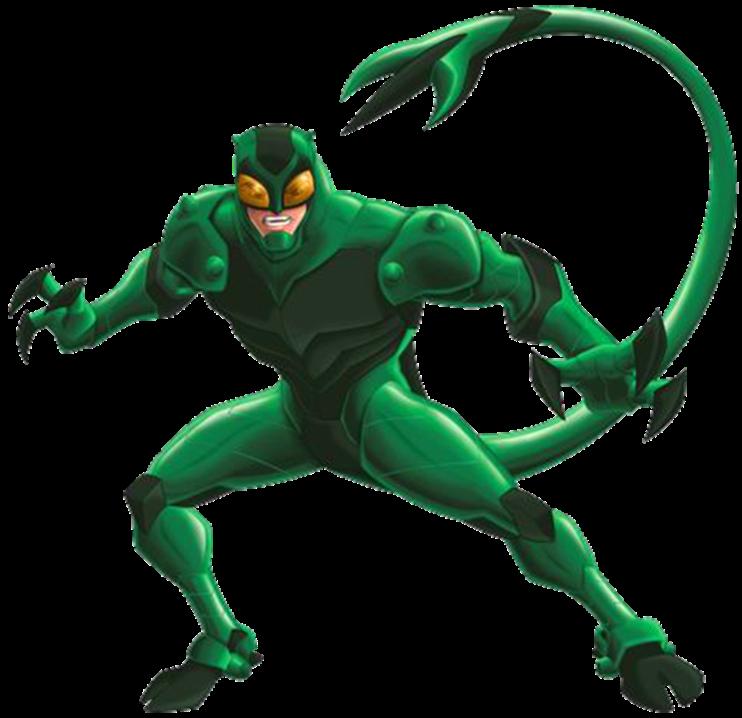 Spectacular spider man scorpion