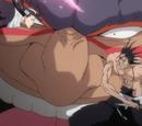 Ichigo Kurosaki, Kenpachi Zaraki & Byakuya Kuchiki vs. Yammy Llargo