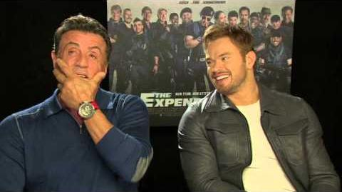 The Expendables 3 - Sly Stallone & Kellan Lutz Interview