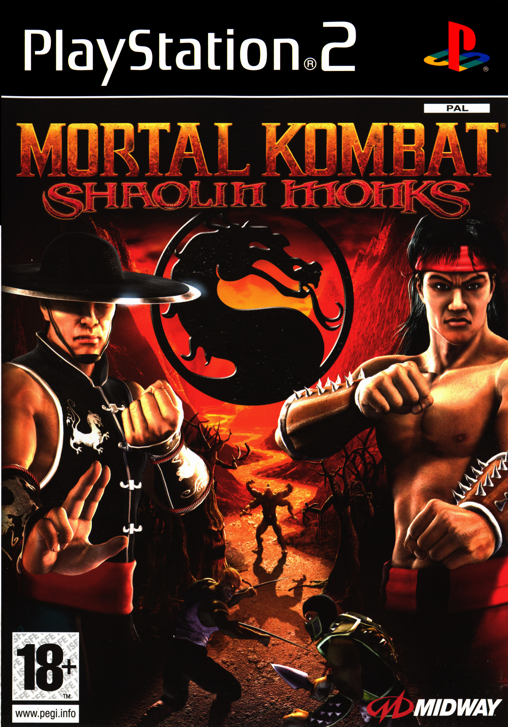Mortal kombat shaolin monks characters - photo#15