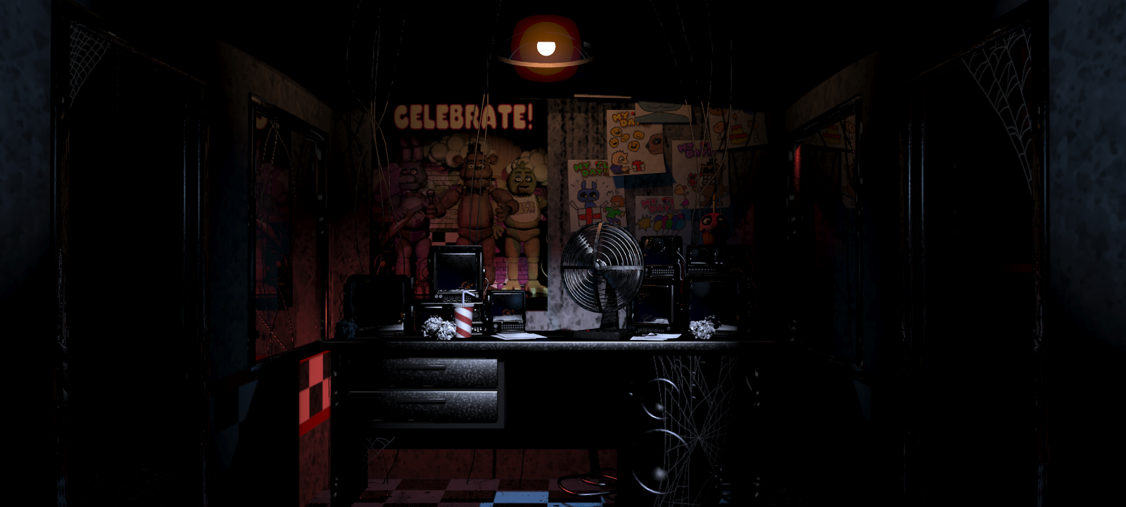 The Game Reader Five Nights at Freddys Information and  : OfficeClean from thegamereader.blogspot.com size 1600 x 720 png 844kB