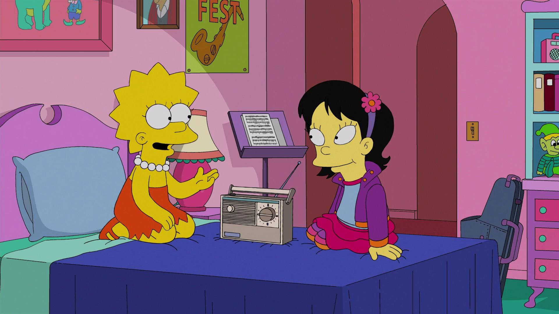 Симпсоны очаровательная сестра 3 фотография
