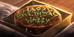 Harry's potter's birthday cake