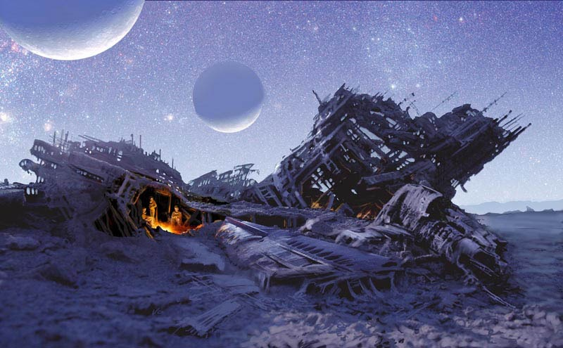 space ship crash - photo #43
