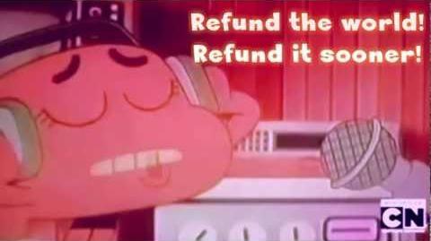The Amazing World of Gumball ~ Refund The World (Lyrics)