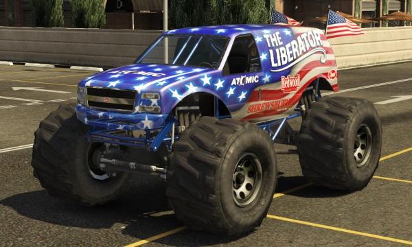 The liberator in grand theft auto v
