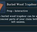 Burled Wood Trapdoor