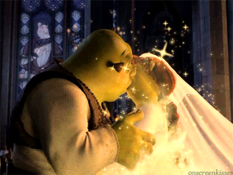 Image - Shrek Fiona kiss.png - Heroes Wiki - The ultimate ...
