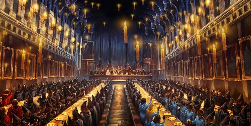 memorial feast to cedric diggory harry potter wiki On comedor harry potter