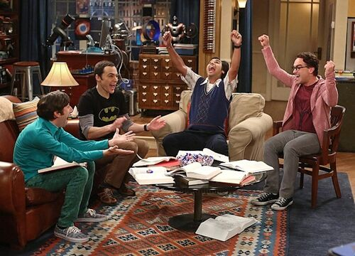 The Big Bang Theory - The Junior Professor Solution