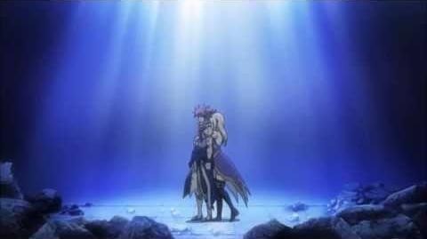 Nalu - Lucy Hugs Natsu - Fairy Tail Episode 198 HD