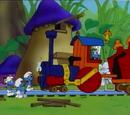 Locomotive Smurfs
