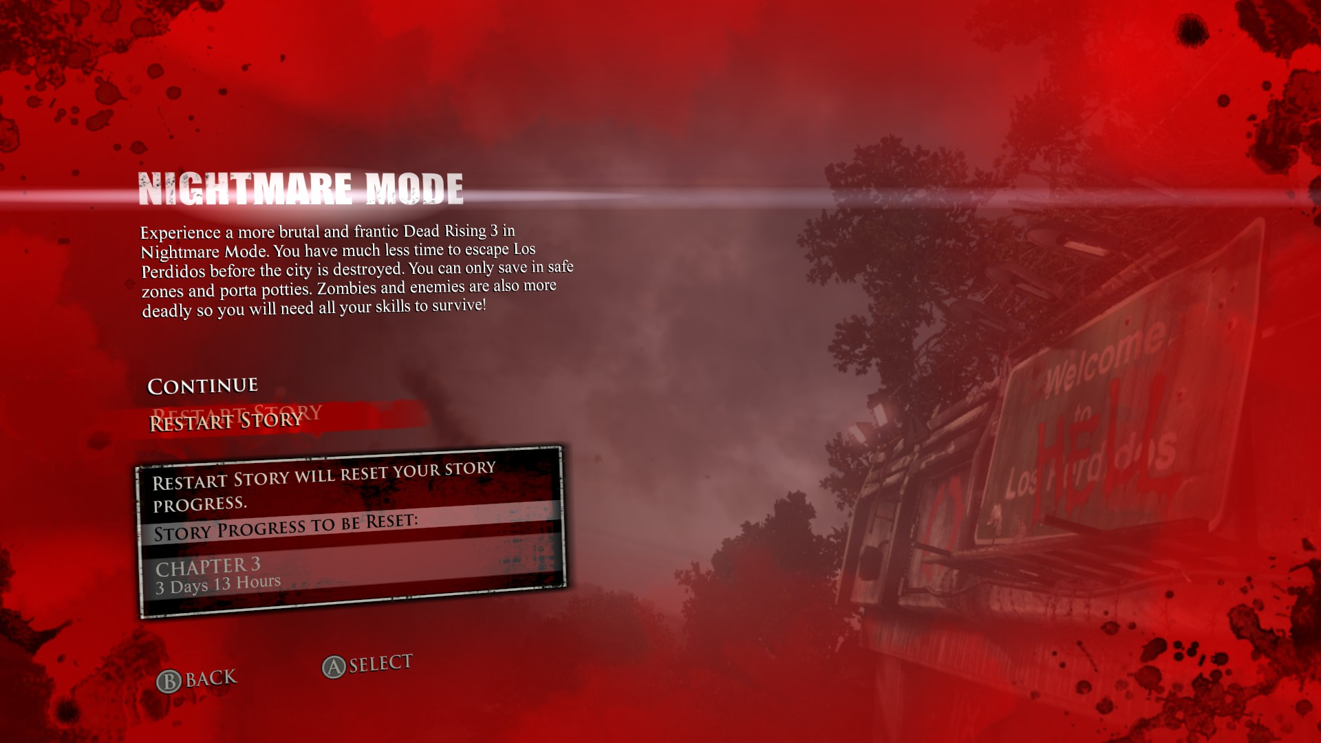 dead rising 3 game modes