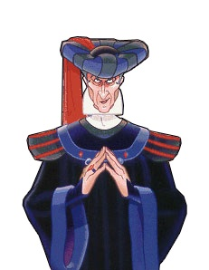 Disney Judge Claude Frollo