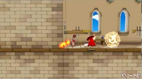 Elsword - Magic Knight Skill Sword Enchant