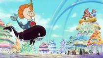 Neptune Invites Straw Hats to Ryugu Palace