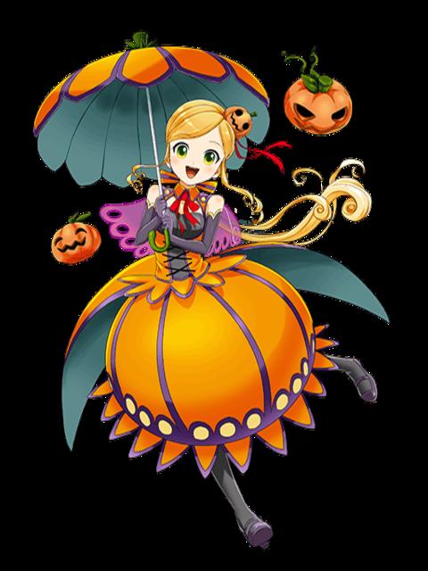 Image tabasa pumpkin little girl transparent png quiz rpg the