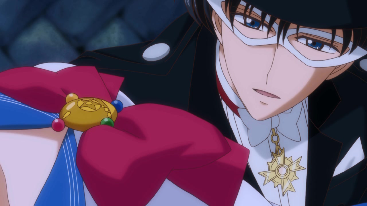 Tuxedo Mask (second anime) - Sailor Moon Wiki