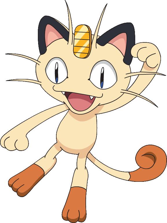 Ficha de Luna [Ficha de ejemplo de mascota] 052Meowth_DP_anime