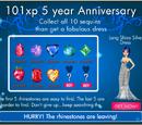 101xp 5 Year Anniversary