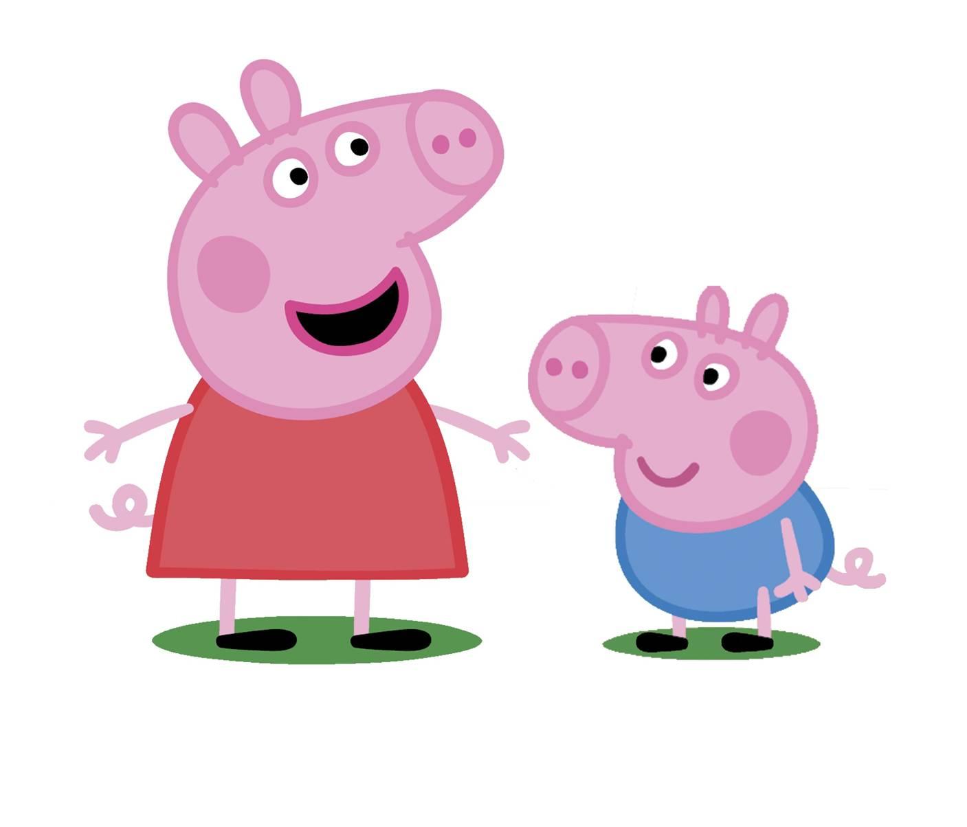 Image peppa and george jpg peppa pig wiki
