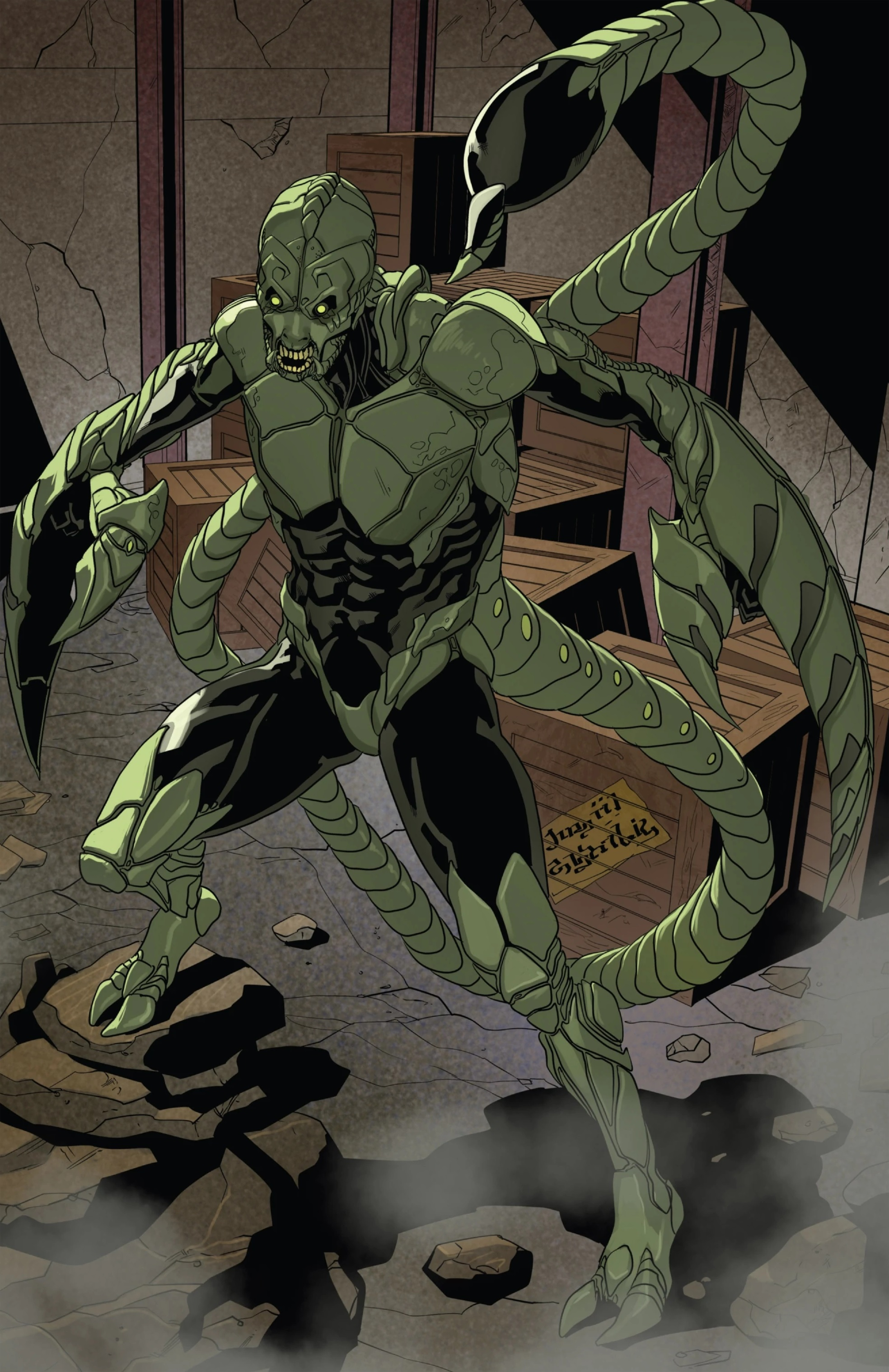 MacDonald Gargan (Earth-616) from Spider-Man 2099 Vol 2 3