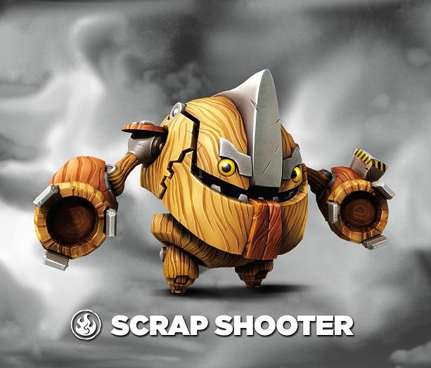 Scrap Shooter Villain Portal Masters Of Skylands Unite