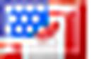 Mini drapeau des États-Unis et du Canada.png