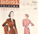 Butterick 5454 A