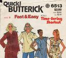 Butterick 6513 A