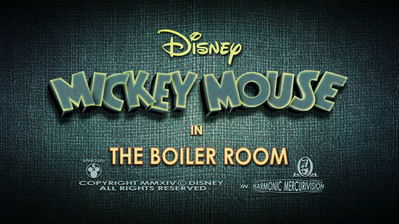 Mickey Mouse Boiler Room