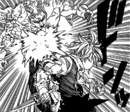 Meliodas punch Gray Hendrickson in the stomach.png