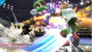 Pit Sombrio atacando a Fox y a Luigi en Super Smash Bros. para Wii U.jpg