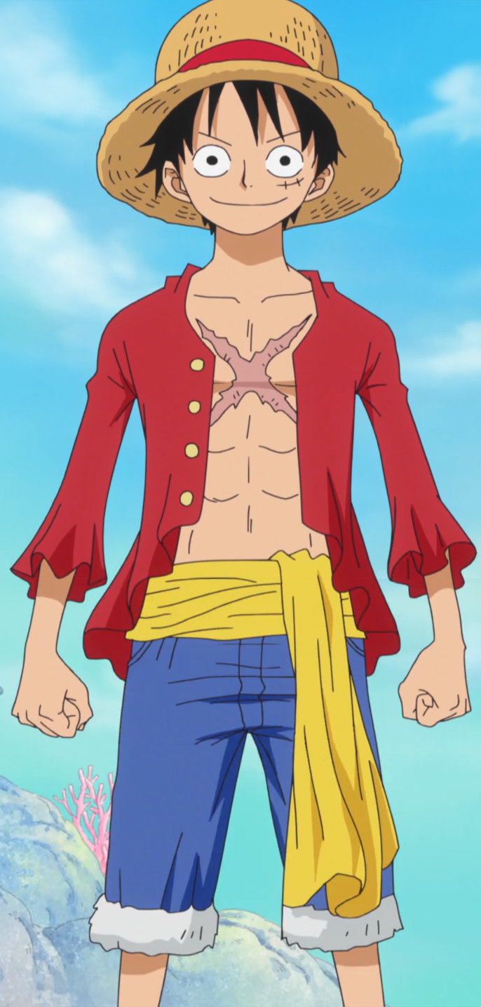 D Monkey Luffy Monkey D  Luffy Anime Post