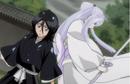 232Sode no Shirayuki appears behind Rukia.png