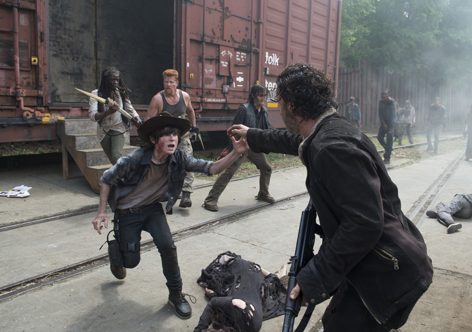 Imagen The Walking Dead Episode 501 Rick Lincoln Carl