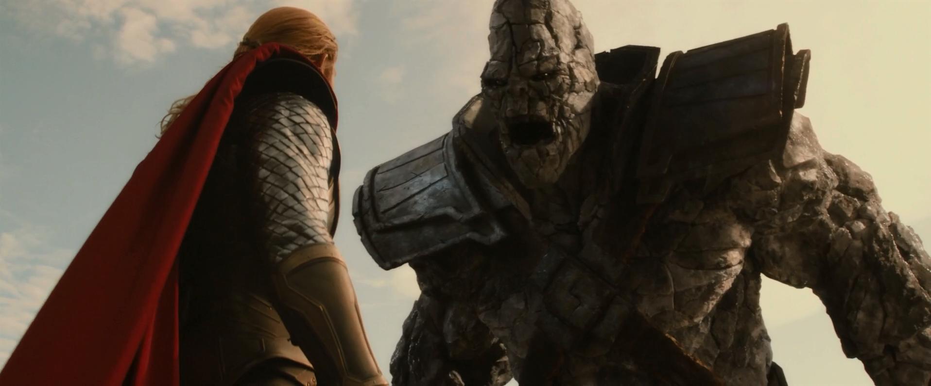 Image Thor Vs Korg Png Marvel Cinematic Universe Wiki