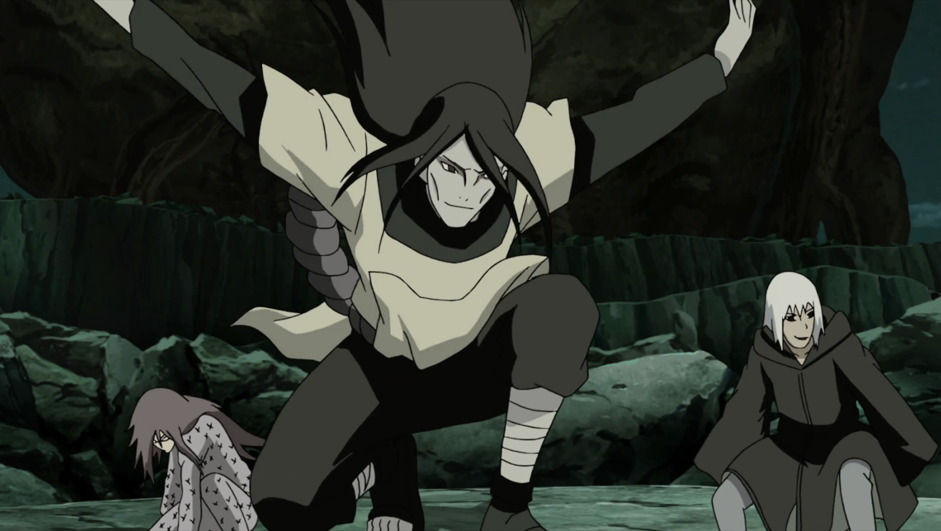 Image - Orochimaru arrives to the battlefield.png ...