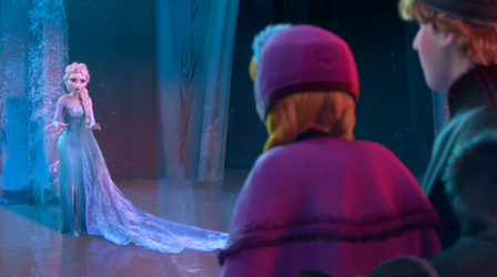 frozen anna and elsa meet barbie in person