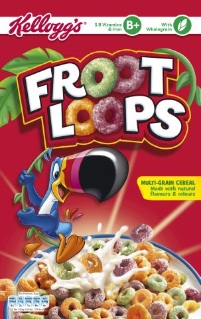 Froot Loops Cereal Bars Froot Loops - Cereal W...
