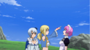 Lucy flicks Virgo as punishment.png