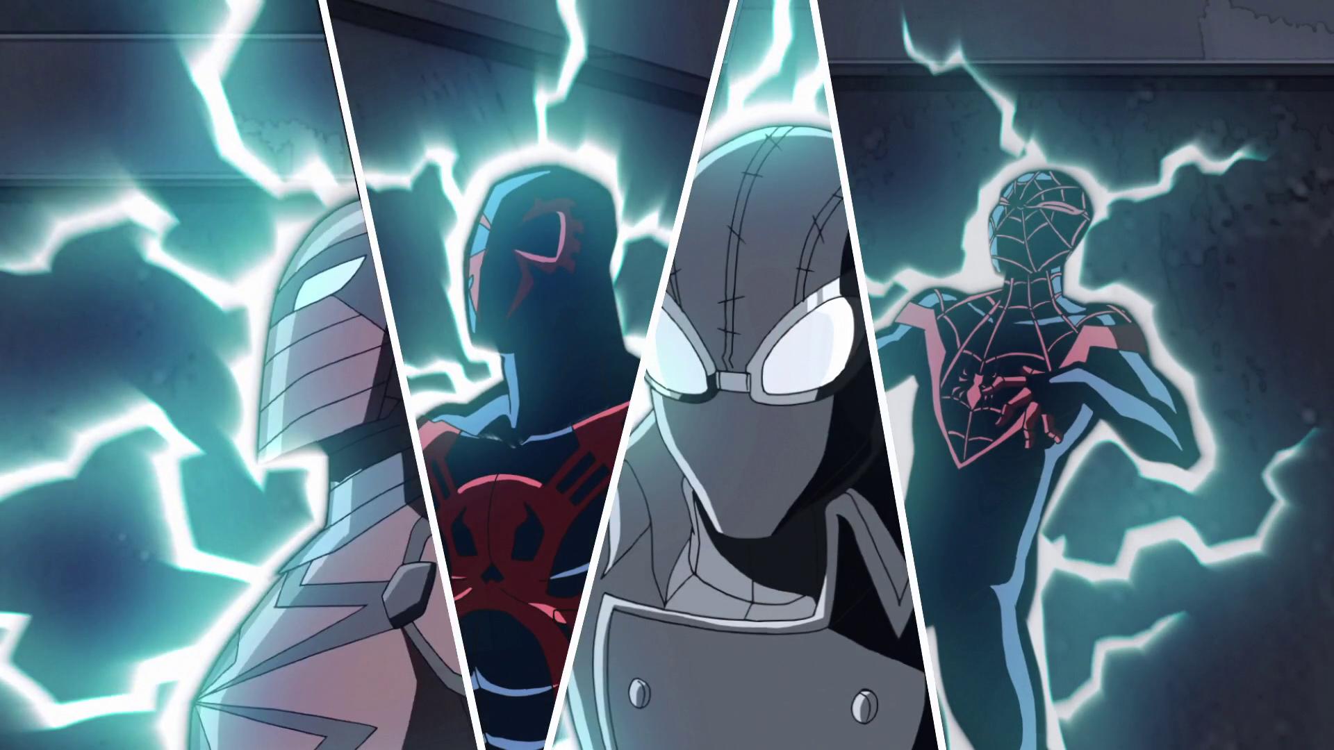 Image - Spider-Man 2099, Spider-Man Noir, Spyder-Knight ...