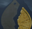 1. Medaillonhälfte, die Zwei Bäume von Valinor