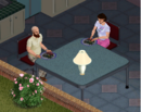 Ts1 Bob and Betty Newbie eating dinner.png